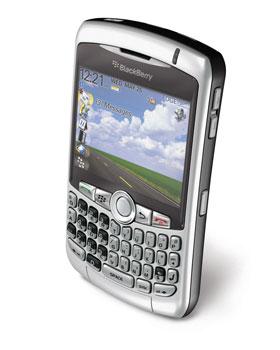 O Blackberry Curve 8300 foi eleito o Melhor Smartphone pela revista Info Exame em 2006