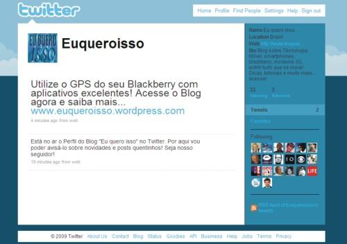 Perfil euqueroisso twitter